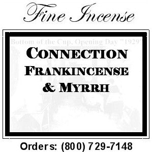Frankincense and Myrrh Incense - Connection