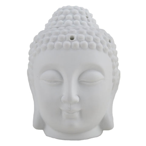 "Votive Candle and Incense Holder - Buddha, 6"" x 3.75"""