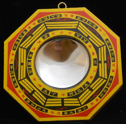 Feng Shui Bagua Mirrors Bottom Of The Cup