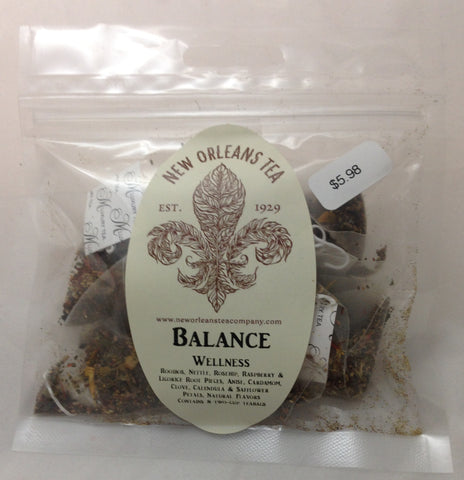 Balance Wellness (8 Two-Cup Pyramid Tea Bags)