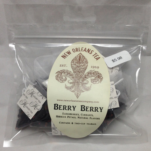 Berry Berry (8 Two-Cup Pyramid Tea Bags)