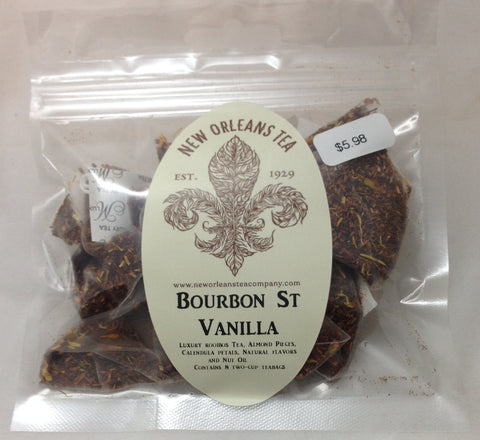 Bourbon St Vanilla (8 Two-Cup Pyramid Tea Bags)