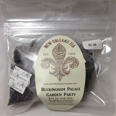Buckingham Palace Garden Party (8 Two-Cup Pyramid Teabags)