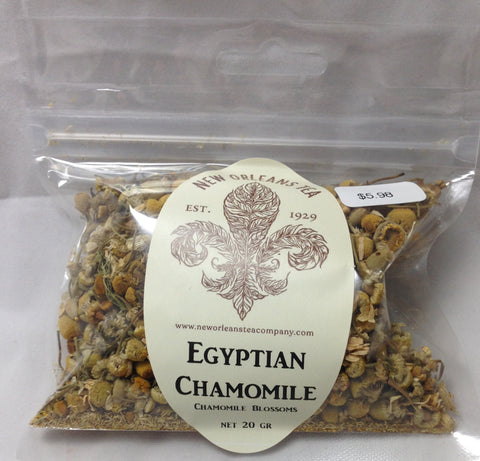 Egyptian Chamomile (8 Two-Cup Pyramid Tea Bags)