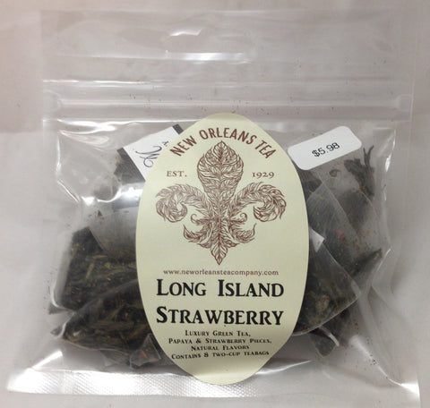 Long Island Strawberry (8 Pyramid Tea Bags)
