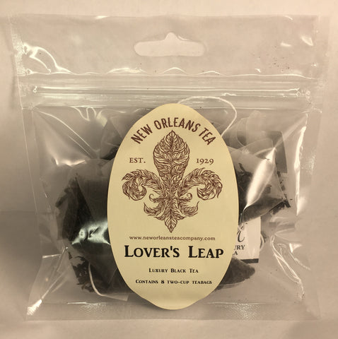 Lover's Leap Black Tea - 8 Two-Cup Pyramid Teabags