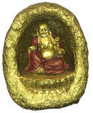 Buddha in Cave with LED light - 4 inches tall