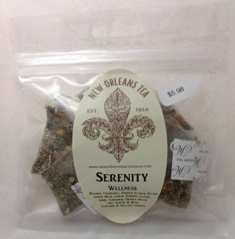 Serenity Wellness (8 Pyramid Tea Bags)