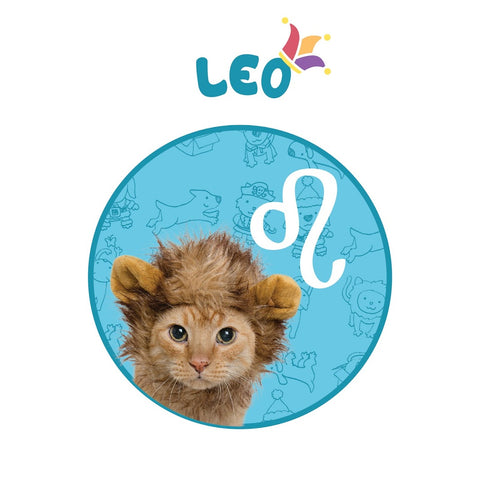 Leo horoscope pet krewe cat costume