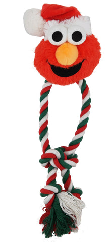 Elmo dog toy santa dog chew toy