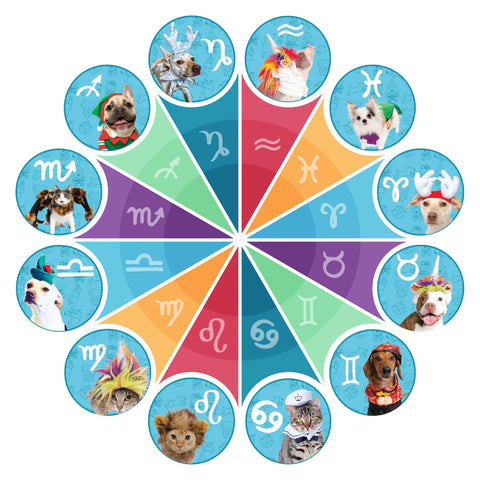 pet zodiac wheel