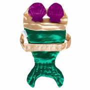 Mermaid Cat Costume with Reversible Sequined Tail