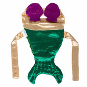 Mermaid Pet Costume with Reversible Sequined Tail