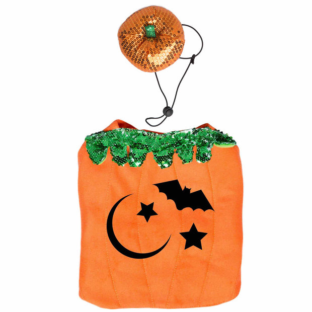 Halloween Pumpkin Cat Costume