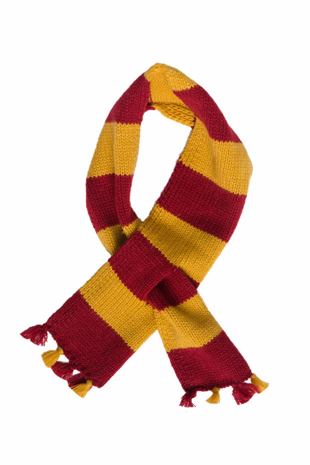 Hipster Wizard Striped Cat Scarf