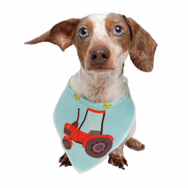 Red Tractor Pet Bandana