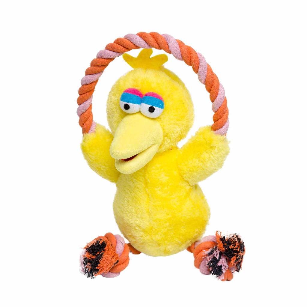 Sesame Street Big Bird Dog Toy