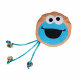 cookie monster cat toy