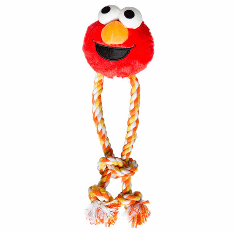 Sesame Street Santa Elmo Dog Chew Toy