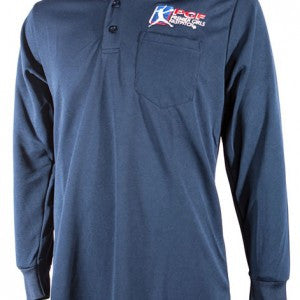 Navy Blue Umpire Long Sleeeve Shirt