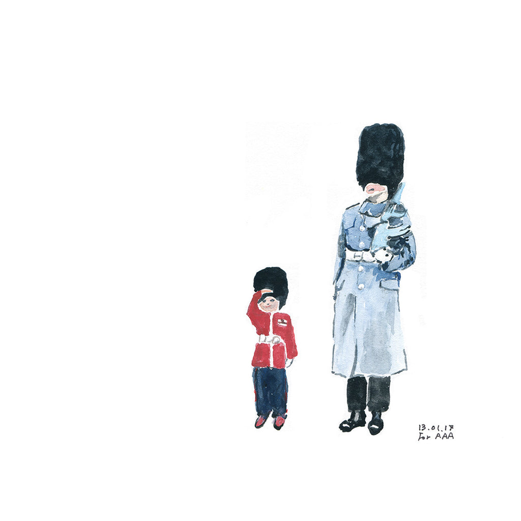 Royal Guard and Boy
