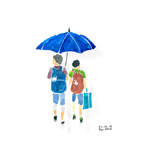 Umbrella (Rainy Day Walk)