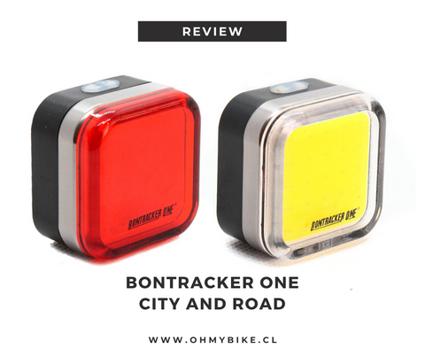 Luces Bontracker One City and Road | ohmybike.cl