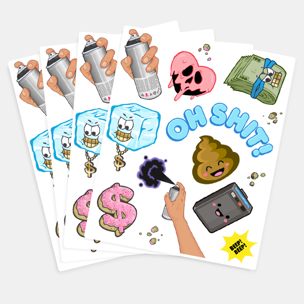 Super Cool Sticker Sheet