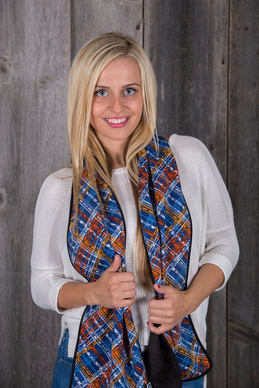 Blue Trail (Scarf)