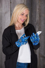 Blue Rainforest (Gloves)
