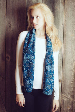 Blue Rainforest (Scarf)