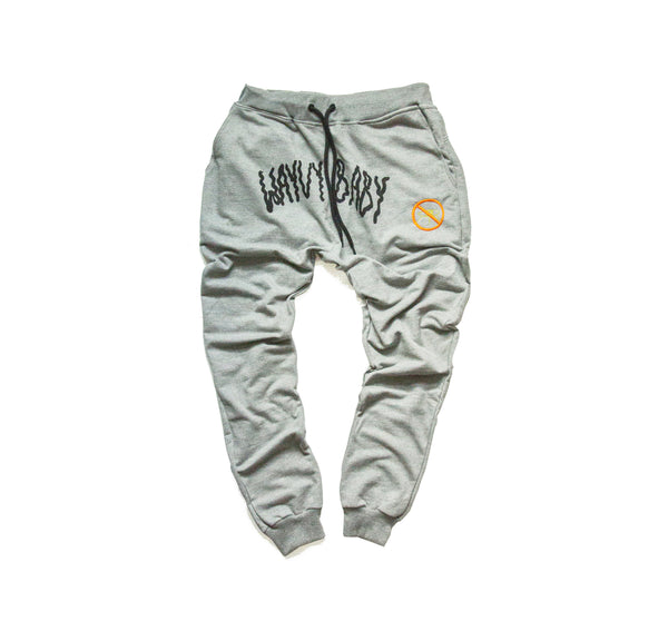 """PERCEPTION"" - ASH GREY - JOGGERS"