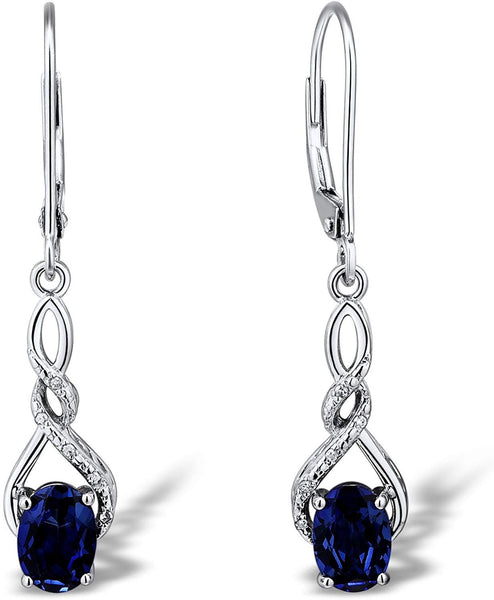 September Birthstone Earrings