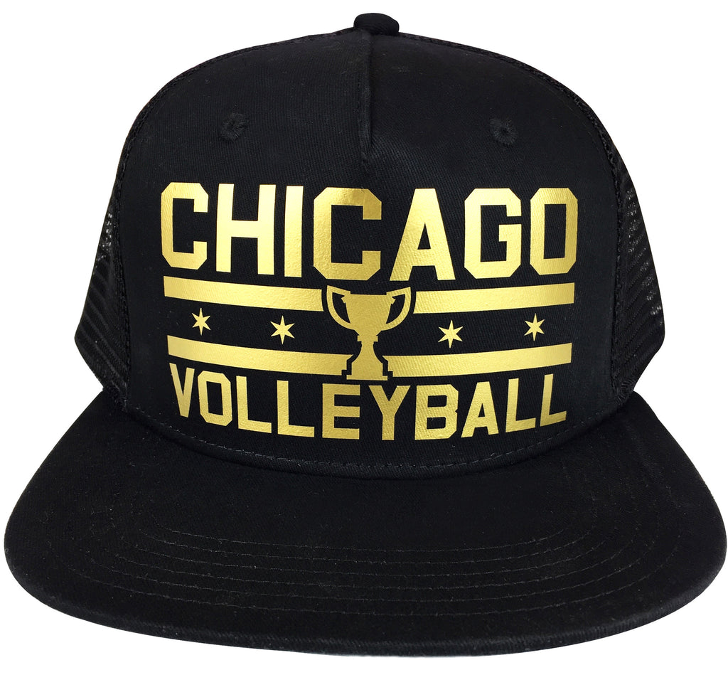 Custom Gold Snapback Champion Hats