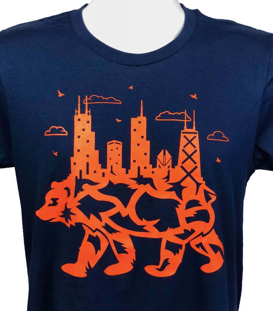 """Bear Down Town"" T-Shirt"