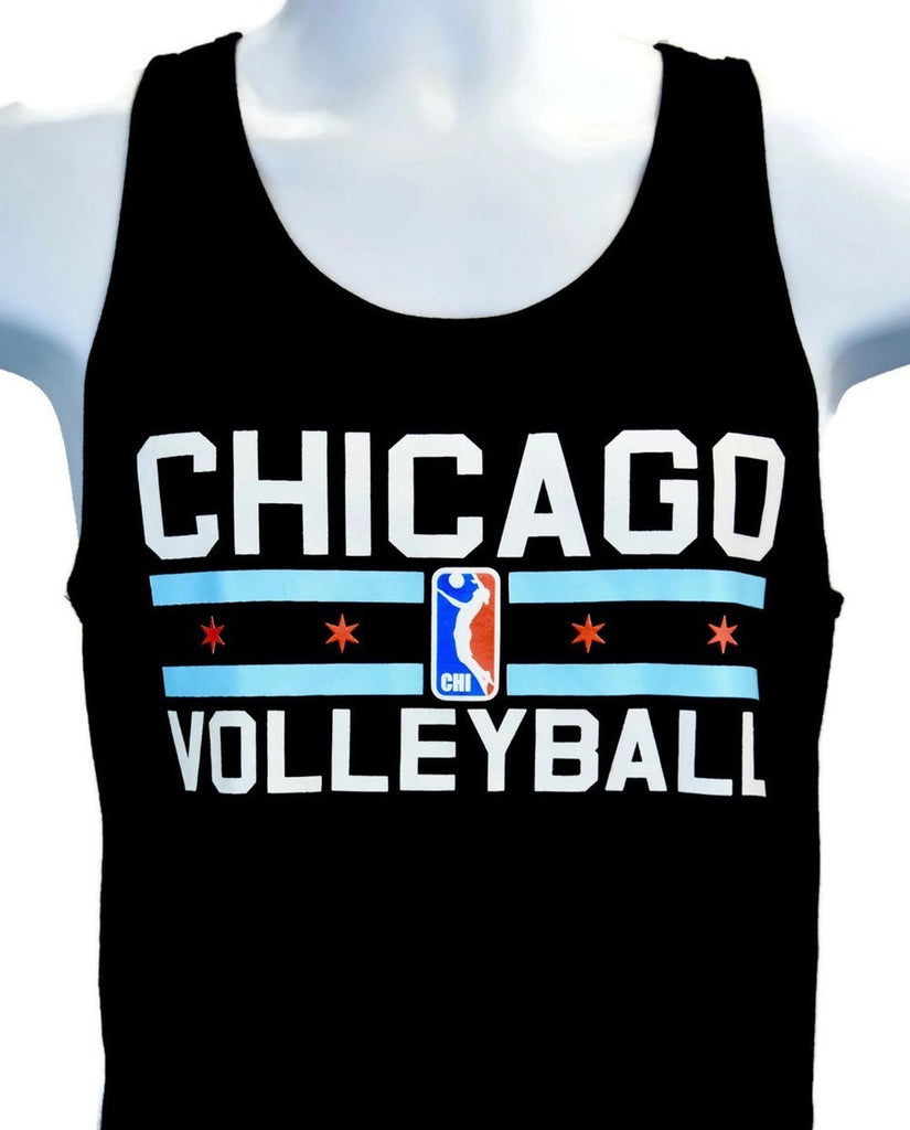 """Chicago Volleyball"" Tank"