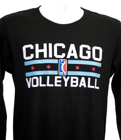 """Chicago Volleyball"" Long Sleeve"
