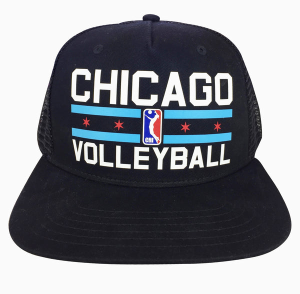 """Chicago Volleyball"" Trucker Hat"
