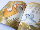 Little Baby Love Seal - Fully Illustrated Story Book