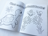 Little Baby Love Seal - Colouring book