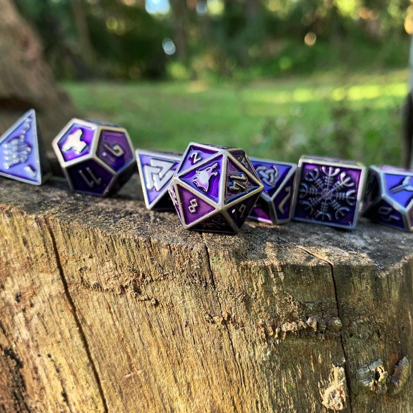 Doppelganger Norse Themed Metal Dice Set Norse Foundry Nothing, absolutely nothing, was my reply. doppelganger norse themed metal dice set