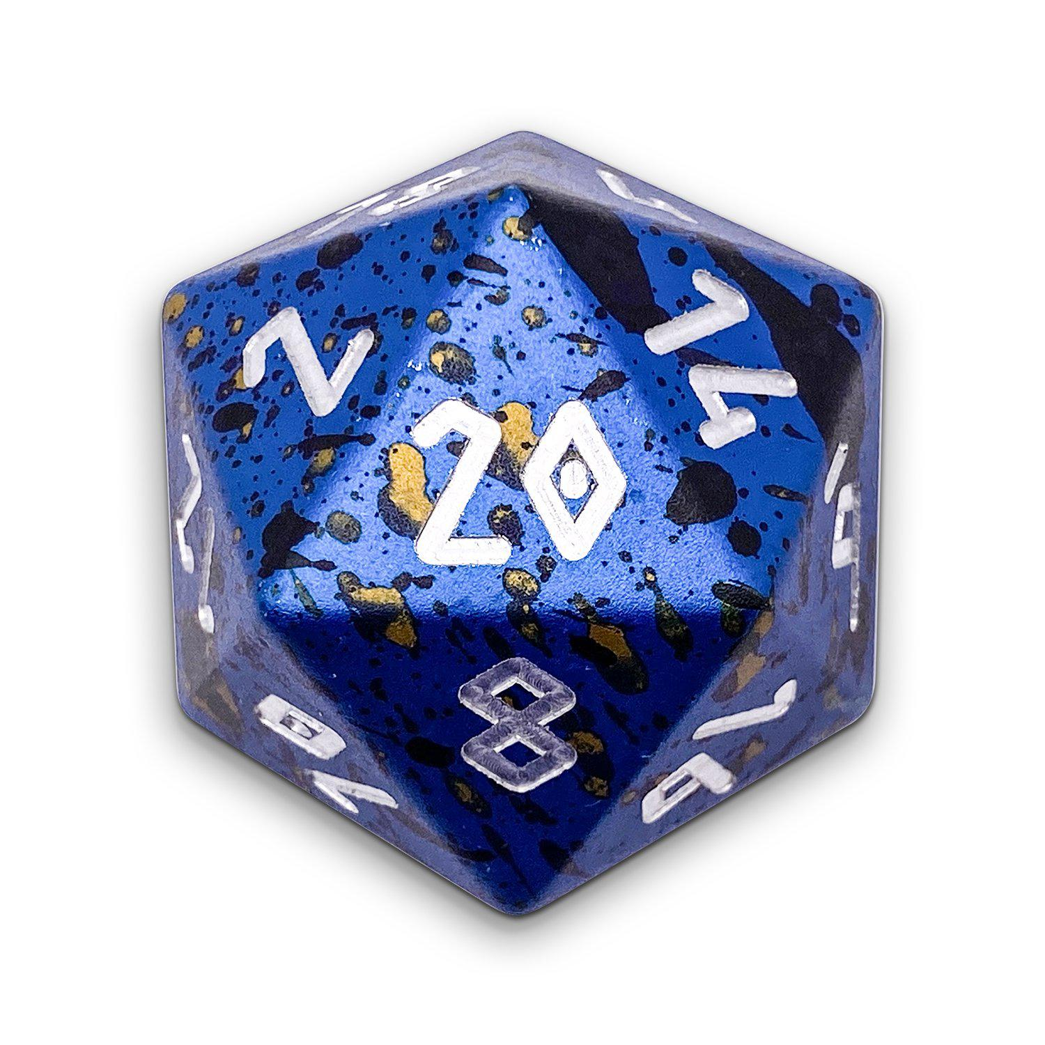 Assassins Blade - Wondrous Boulder® 55mm D20 6063 Aircraft Grade Aluminum Metal Die