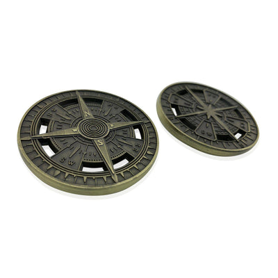 Atmar's Compass Rose 50mm Metal