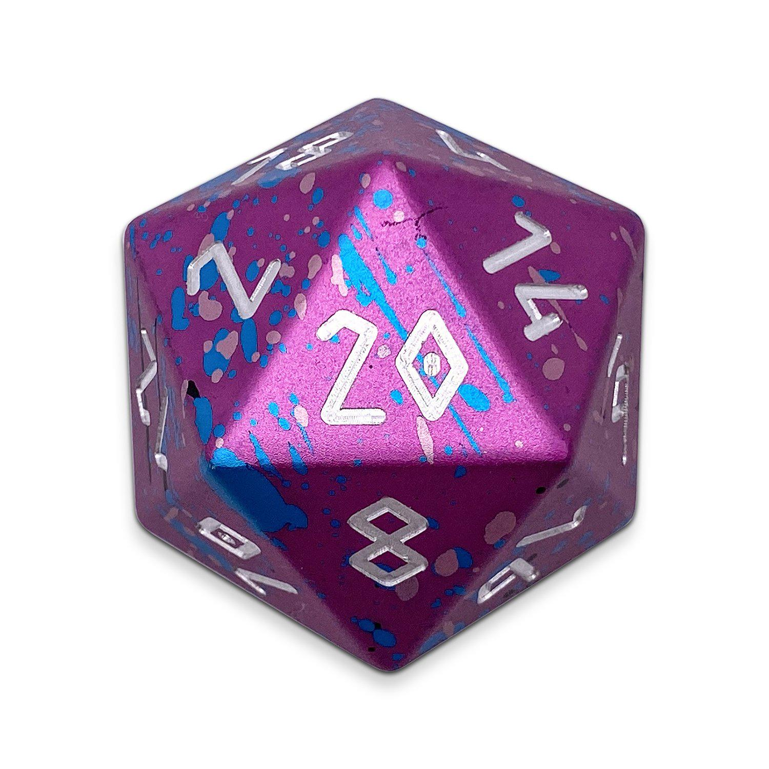 Cosmic Horror - Wondrous Boulder® 55mm D20 6063 Aircraft Grade Aluminum Metal Die