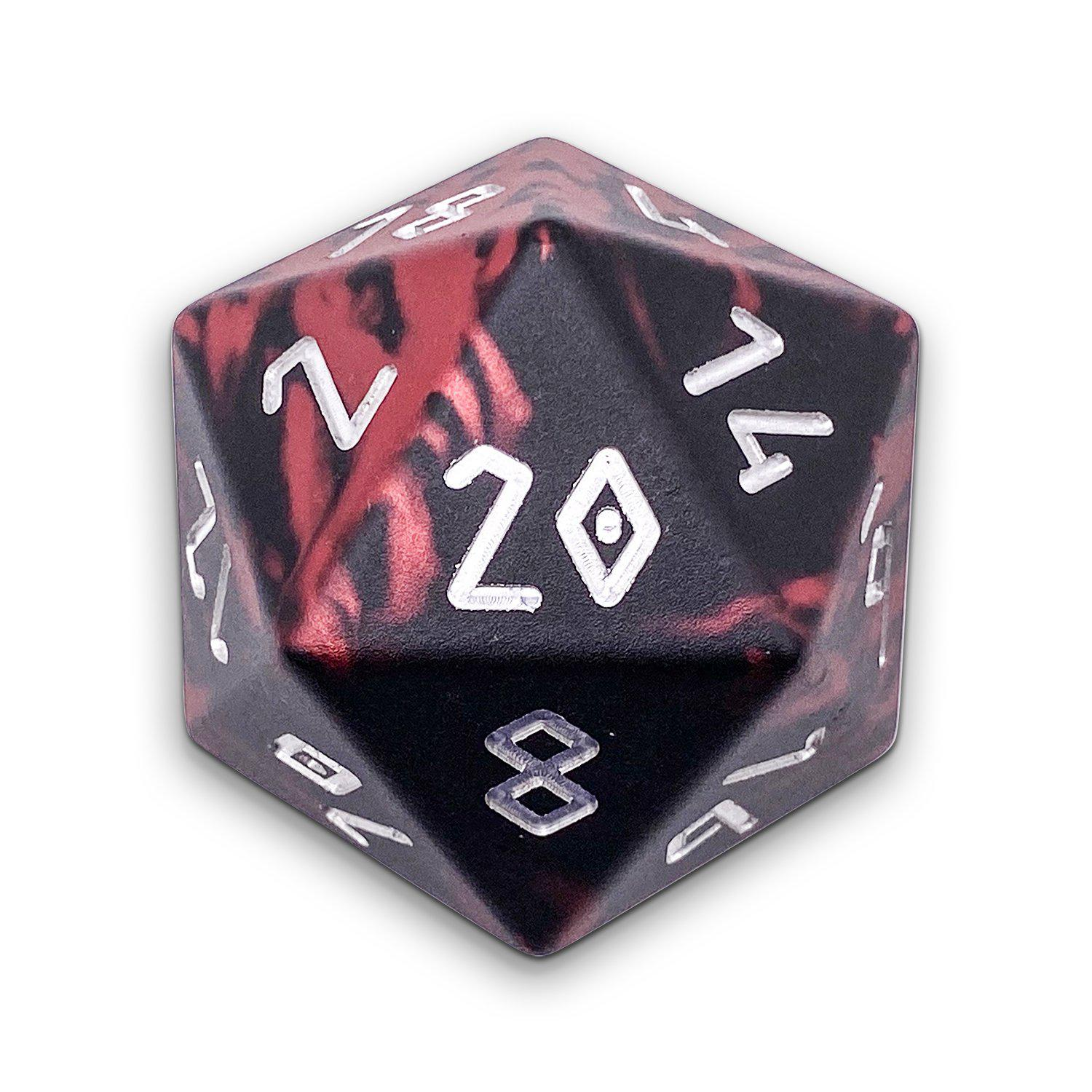 Demons Blood - Wondrous Boulder® 55mm D20 6063 Aircraft Grade Aluminum Metal Die