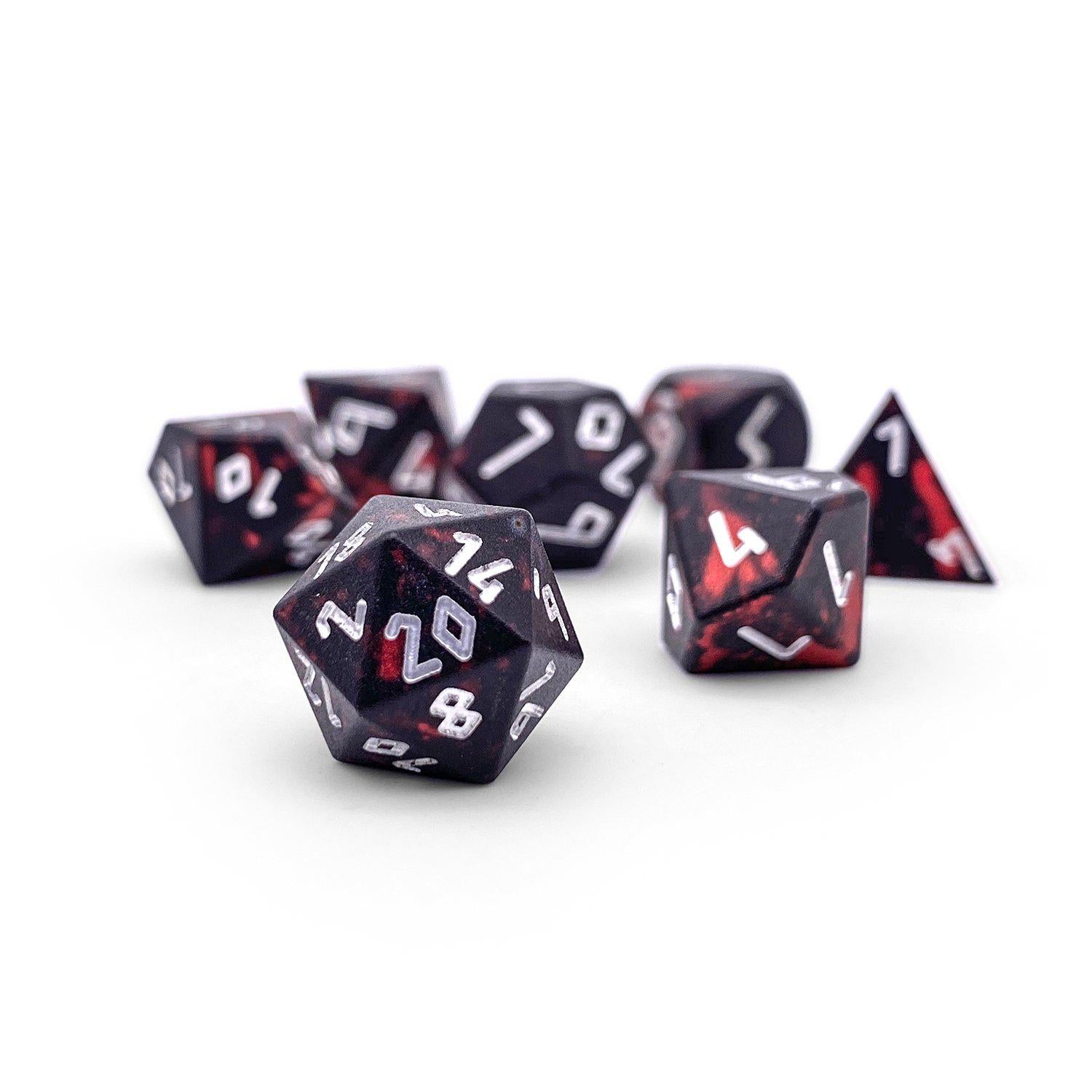 Demons Blood Wondrous Pebble ™ Dice - 10mm 6063 Aircraft Grade Aluminum Mini