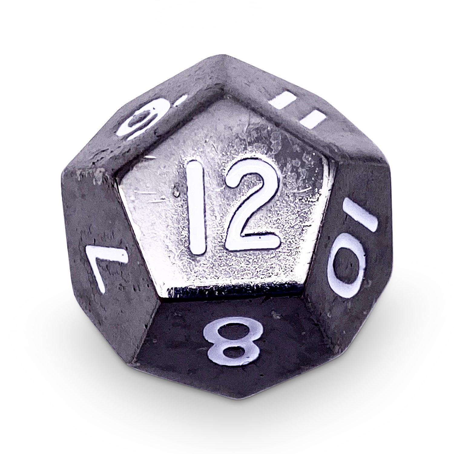 Single Alloy D12 in Drow Black by Norse Foundry