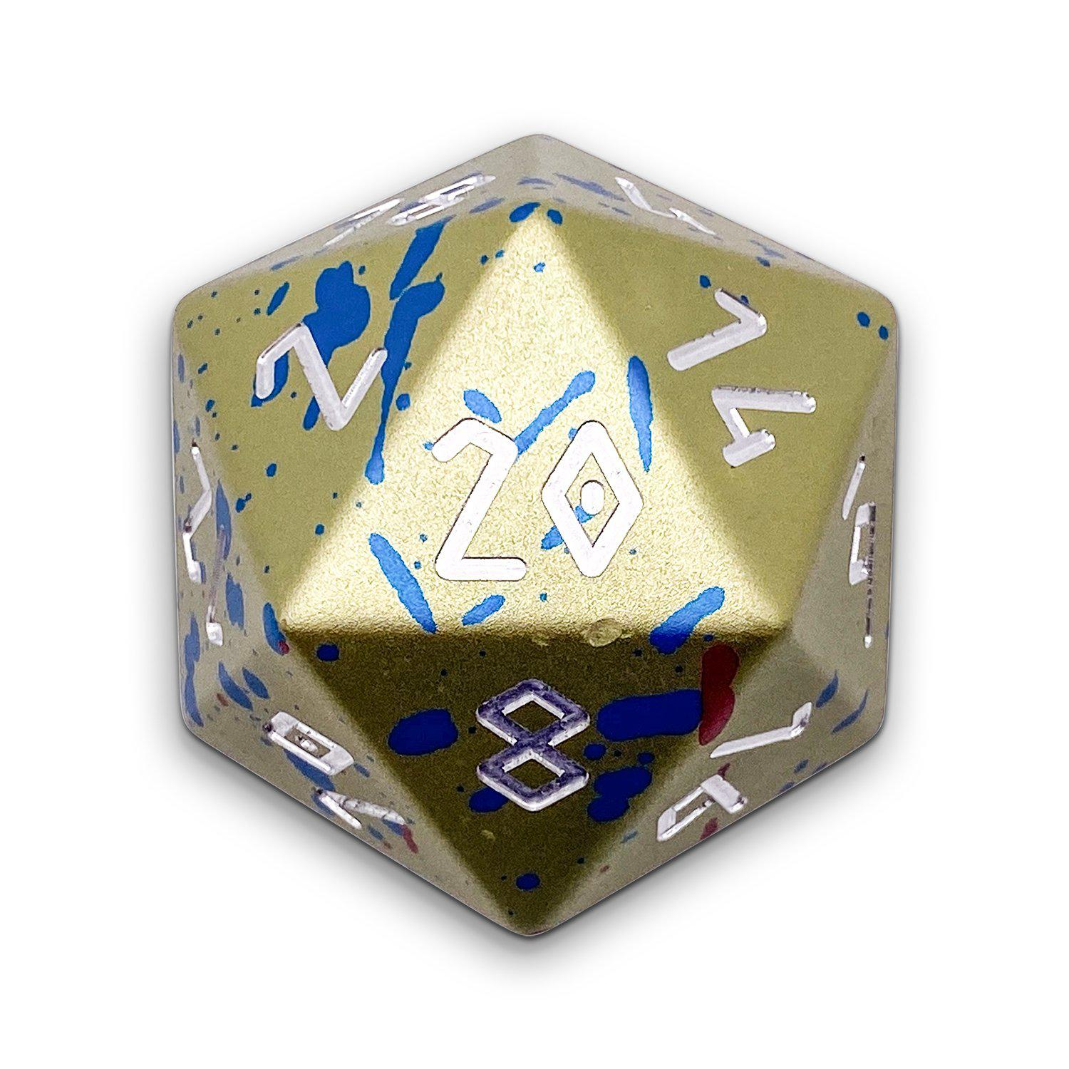 Easter Egg - Wondrous Boulder® 55mm D20 6063 Aircraft Grade Aluminum Metal Die