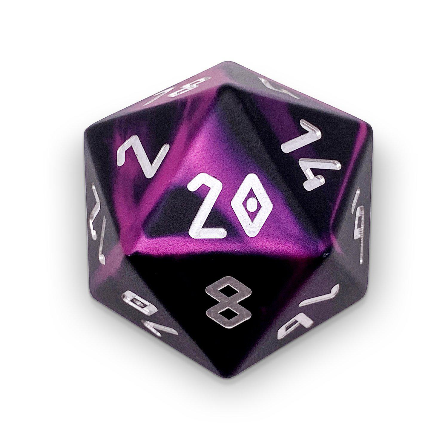 Eldritch - Wondrous Boulder® 55mm D20 6063 Aircraft Grade Aluminum Metal Die