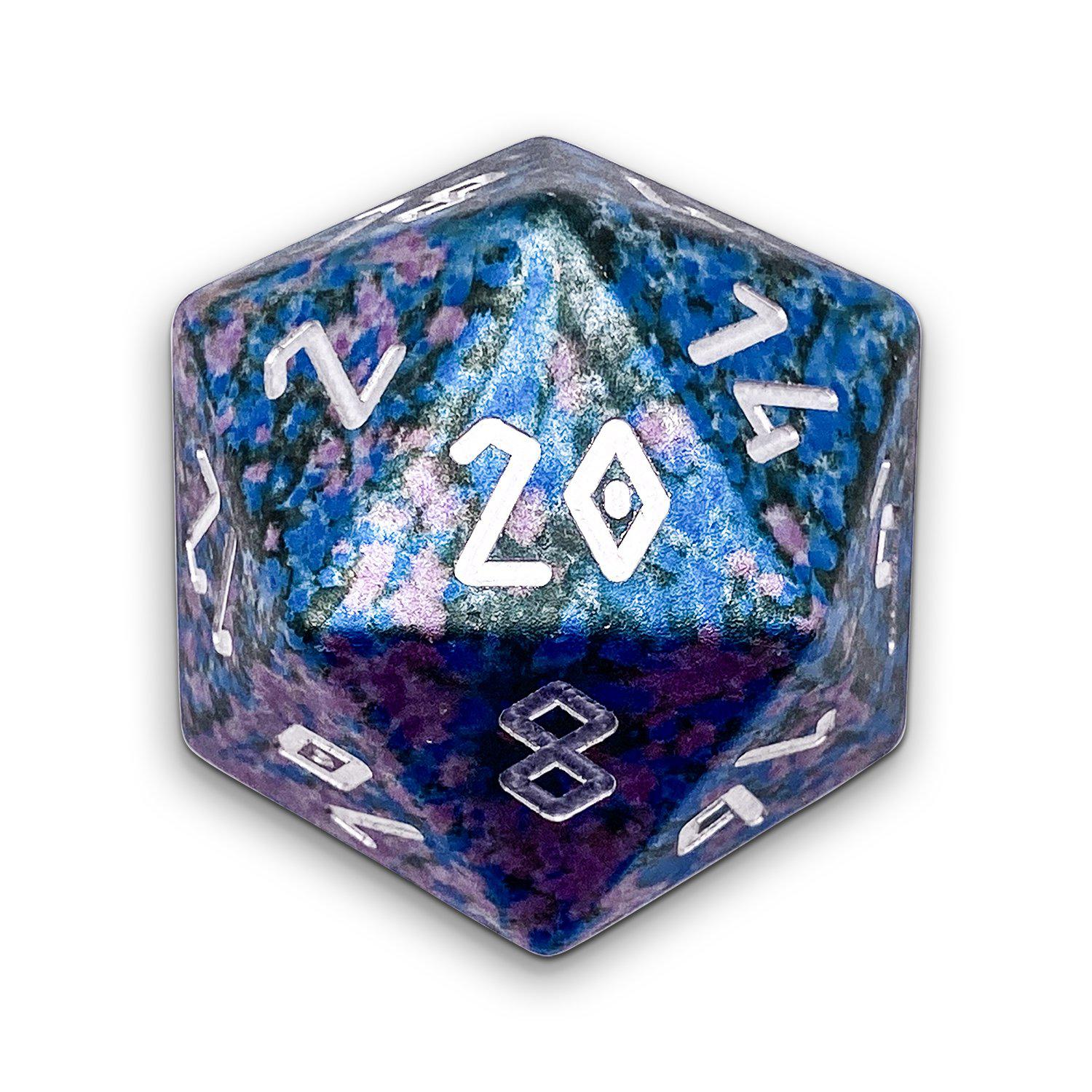 Enchanted Forest - Wondrous Boulder® 55mm D20 6063 Aircraft Grade Aluminum Metal Die